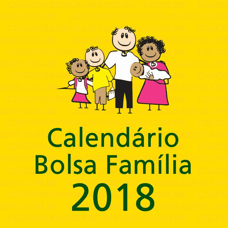 bolsa família e calendário