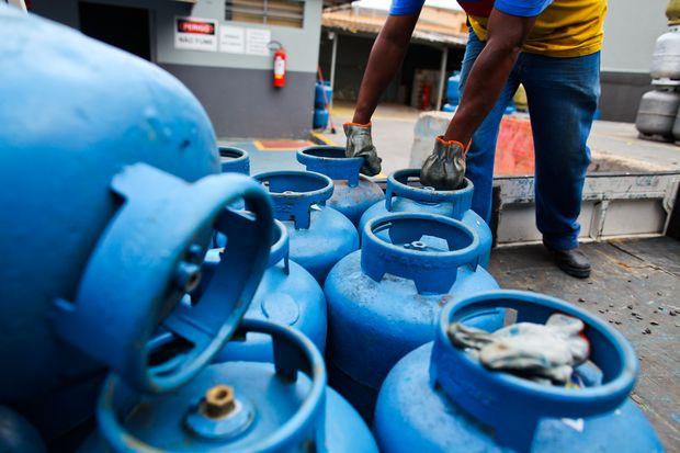 Abastecimento de gás de cozinha