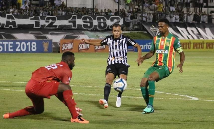 Sampaio Corrêa despacha o ABC e pega o Bahia na final do Nordestão