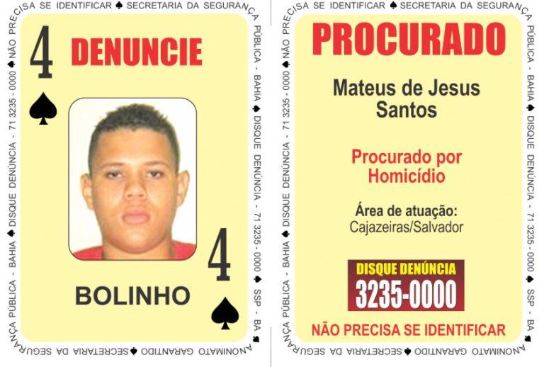 """Sete criminosos são inseridos no """"Baralho do Crime da SSP""""; veja nova lista 3"""