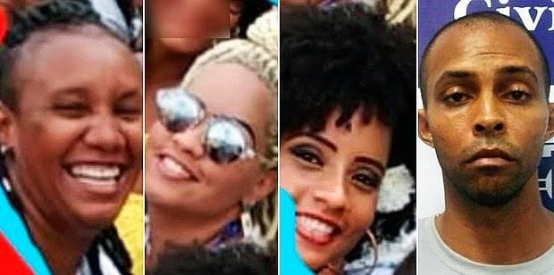 Preso vizinho que matou três mulheres a facadas em Salvador