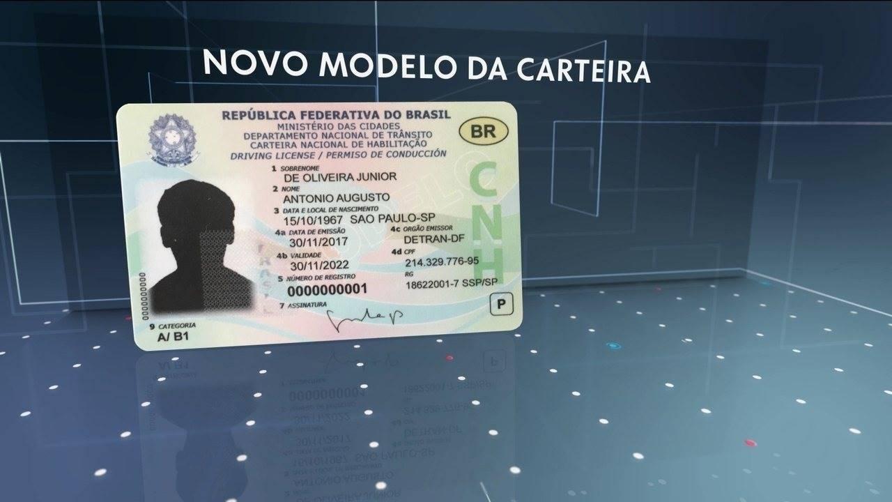 CNH vai virar cartão com chip até 2022 e poderá servir para pagamentos; entenda