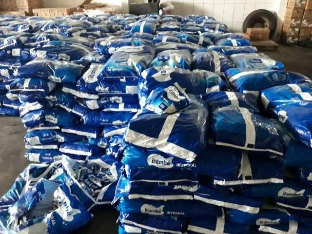 Polícia recupera carga roubada de leite em pó avaliada em meio milhão em Simões Filho