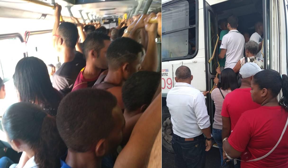 Ônibus da Expresso Metropolitano: a humilhação da população de Simões Filho continua