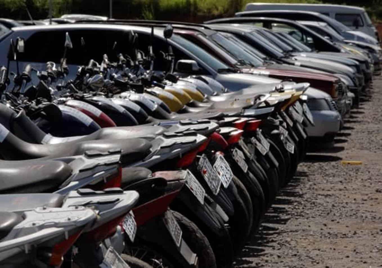 Detran realiza leilões online com 386 carros e motos