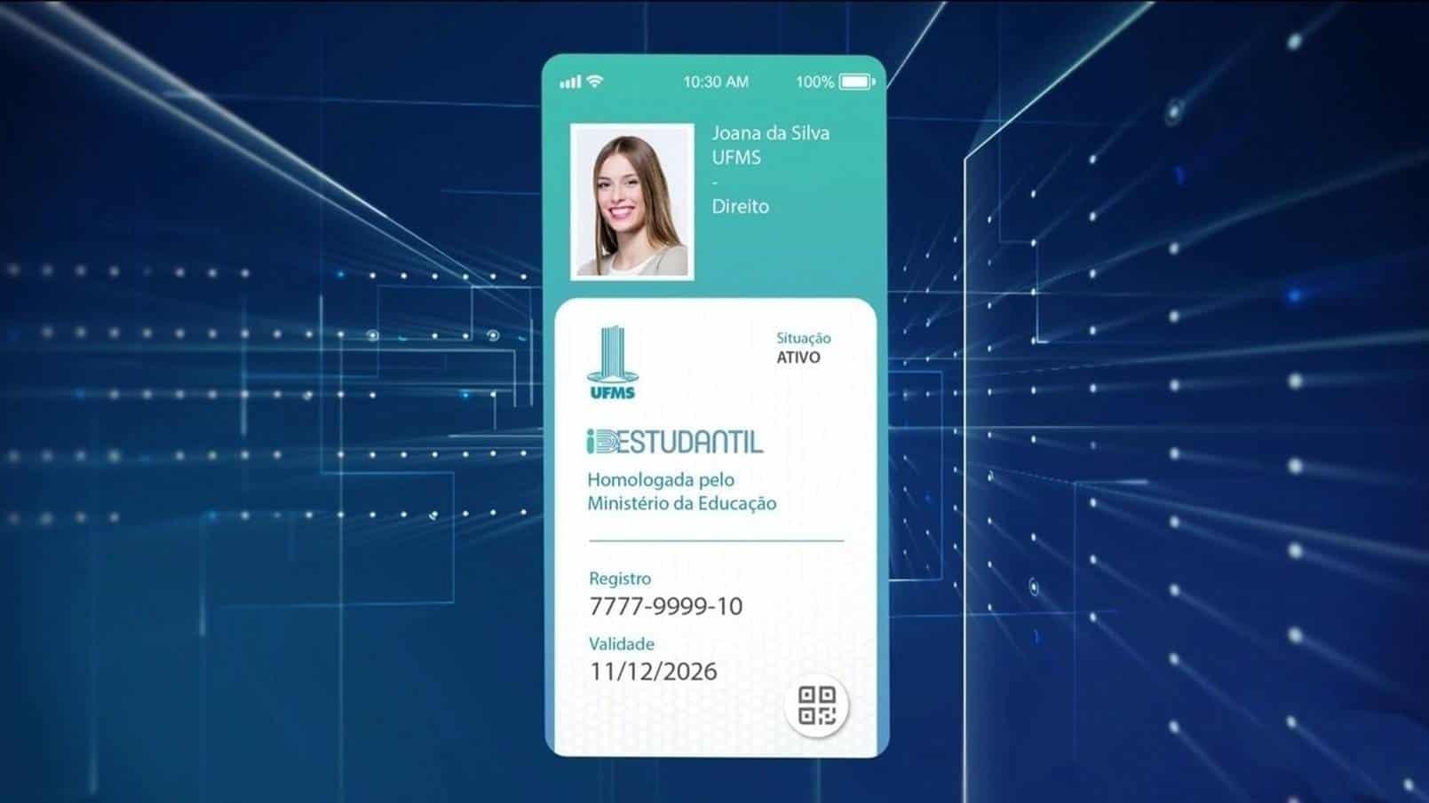 ID Estudantil: alunos já podem ter acesso à carteirinha digital e gratuita