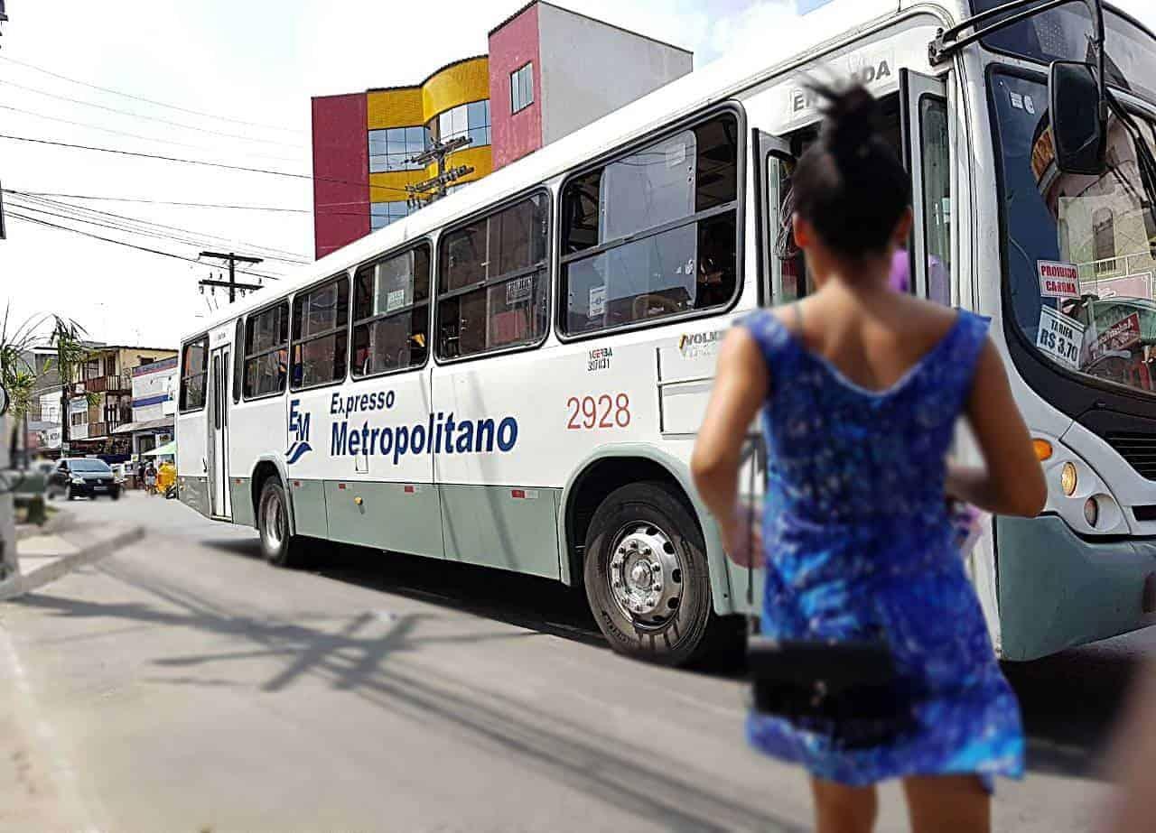 Ônibus coletivos terão botão de pânico para acionar a polícia