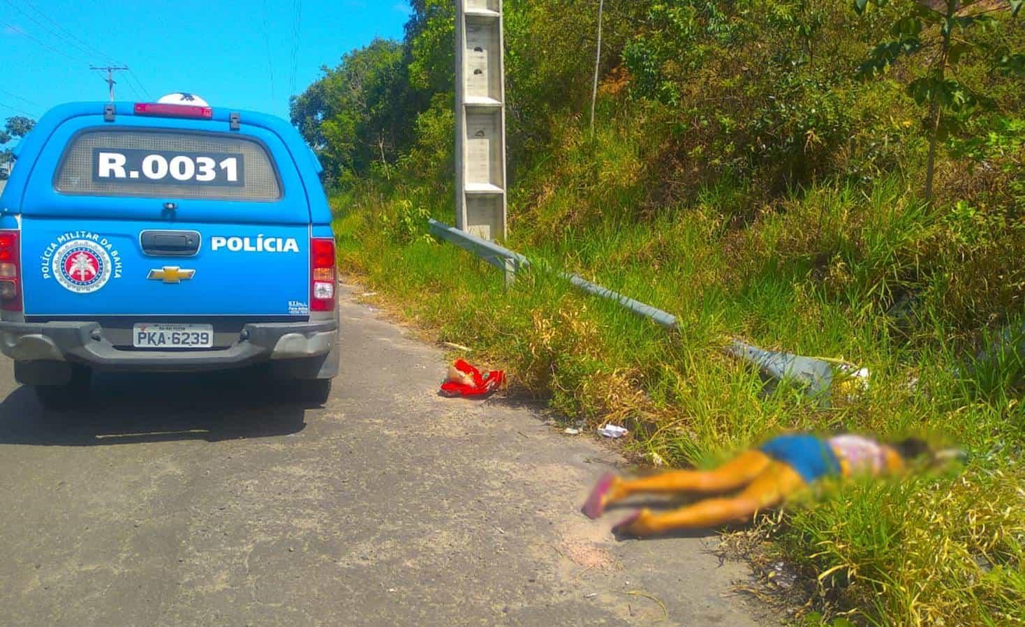 Mulher é assassinada em Simões Filho, na BA