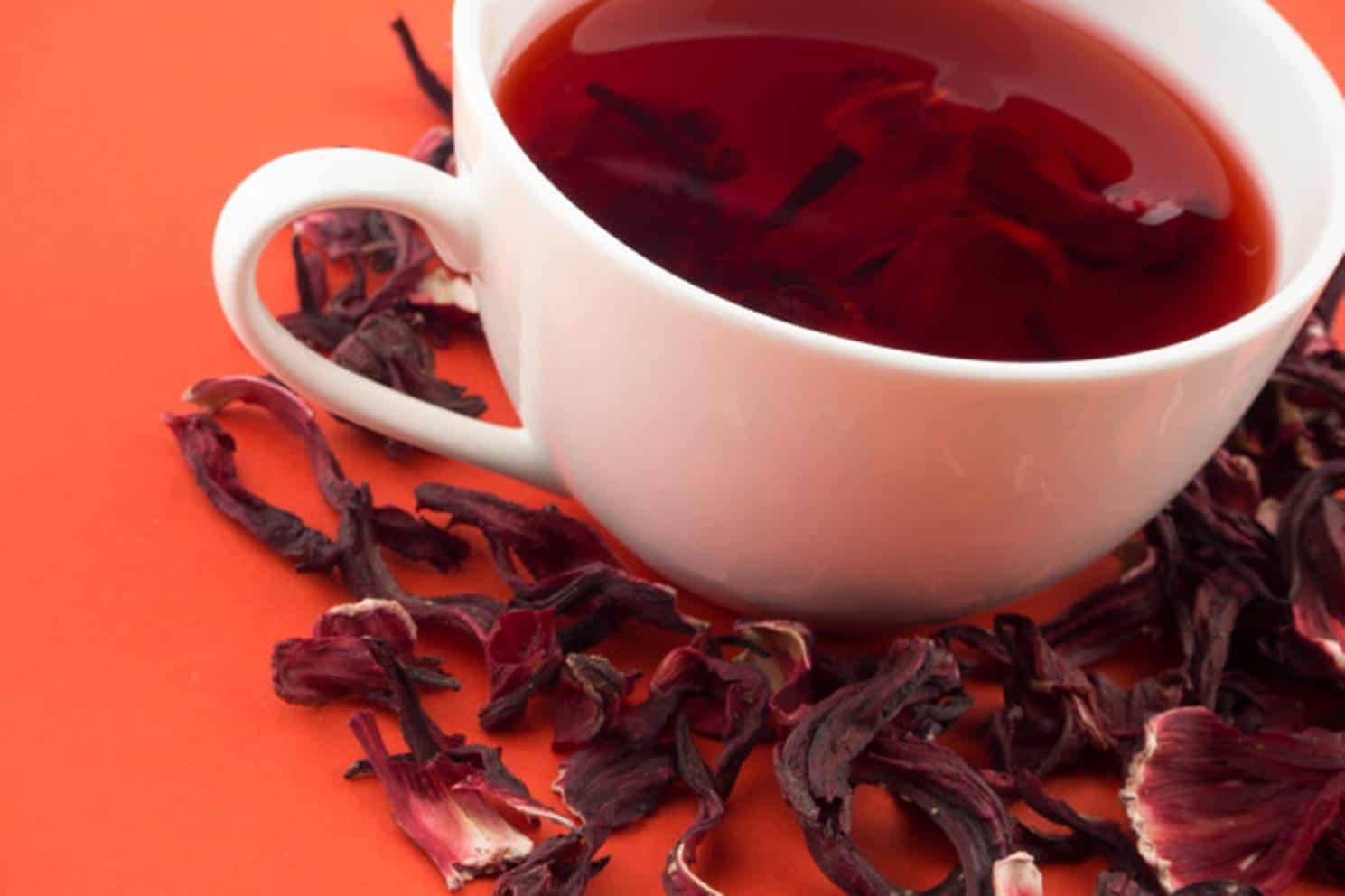 Seca tudo: a dieta do chá de hibisco e os seus benefícios