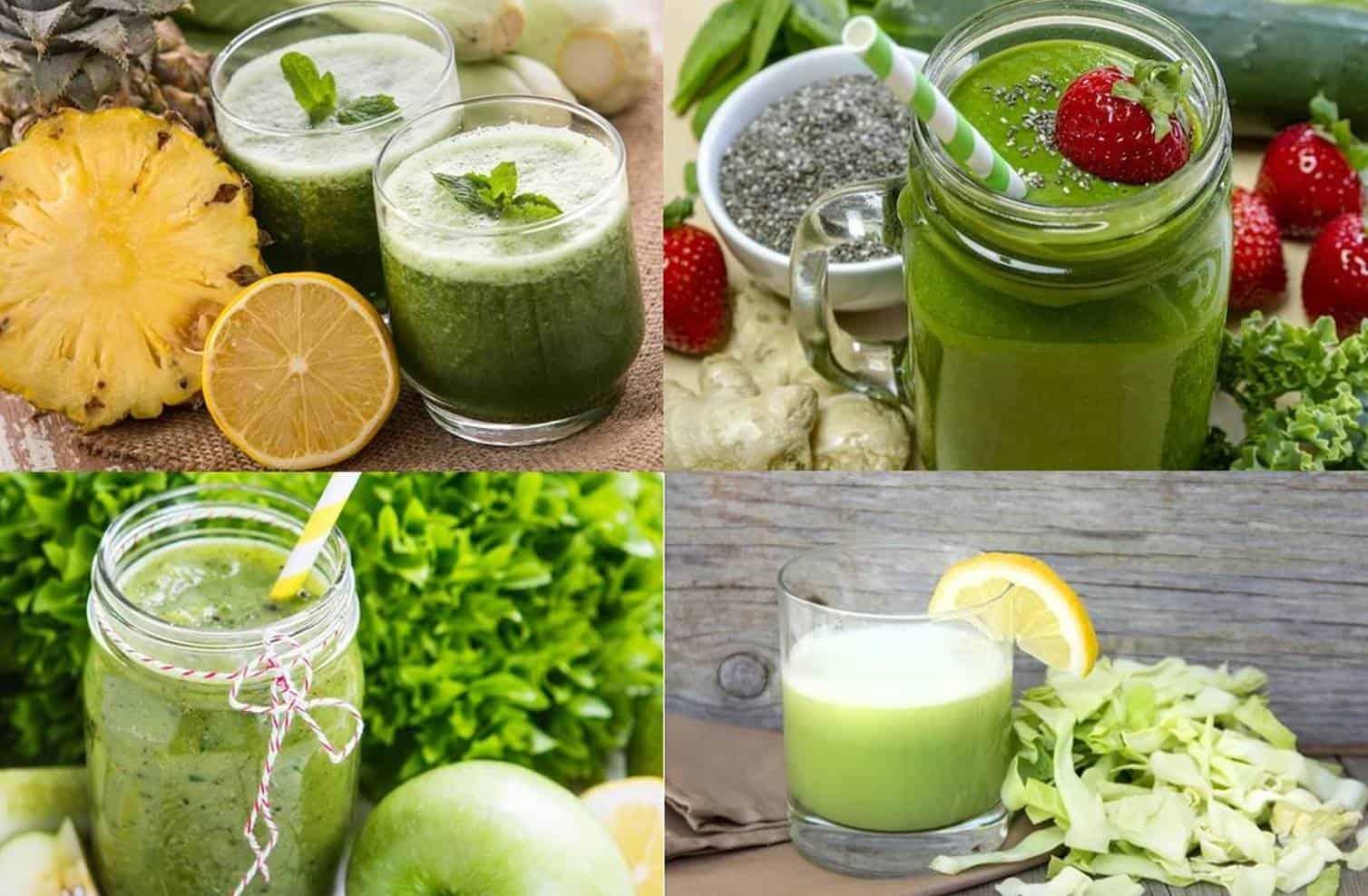 5 receitas de suco verde deliciosos para aumentar suas defesas