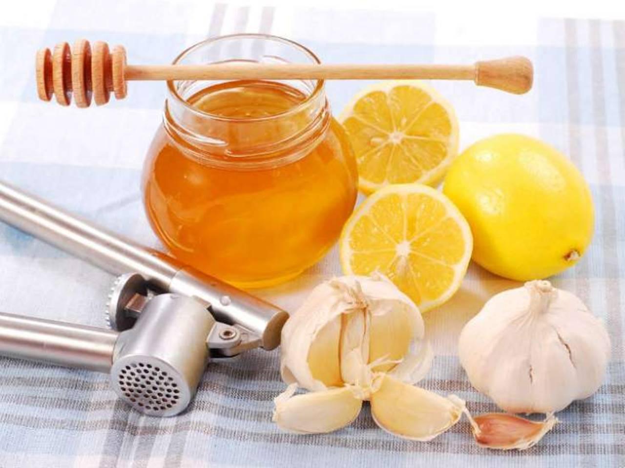 chá de mel e limão receita
