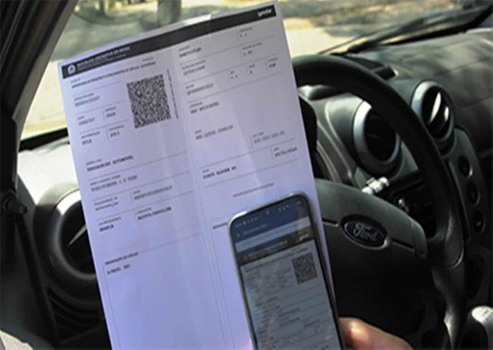 Detran alerta que documento do veículo já pode ser impresso em casa