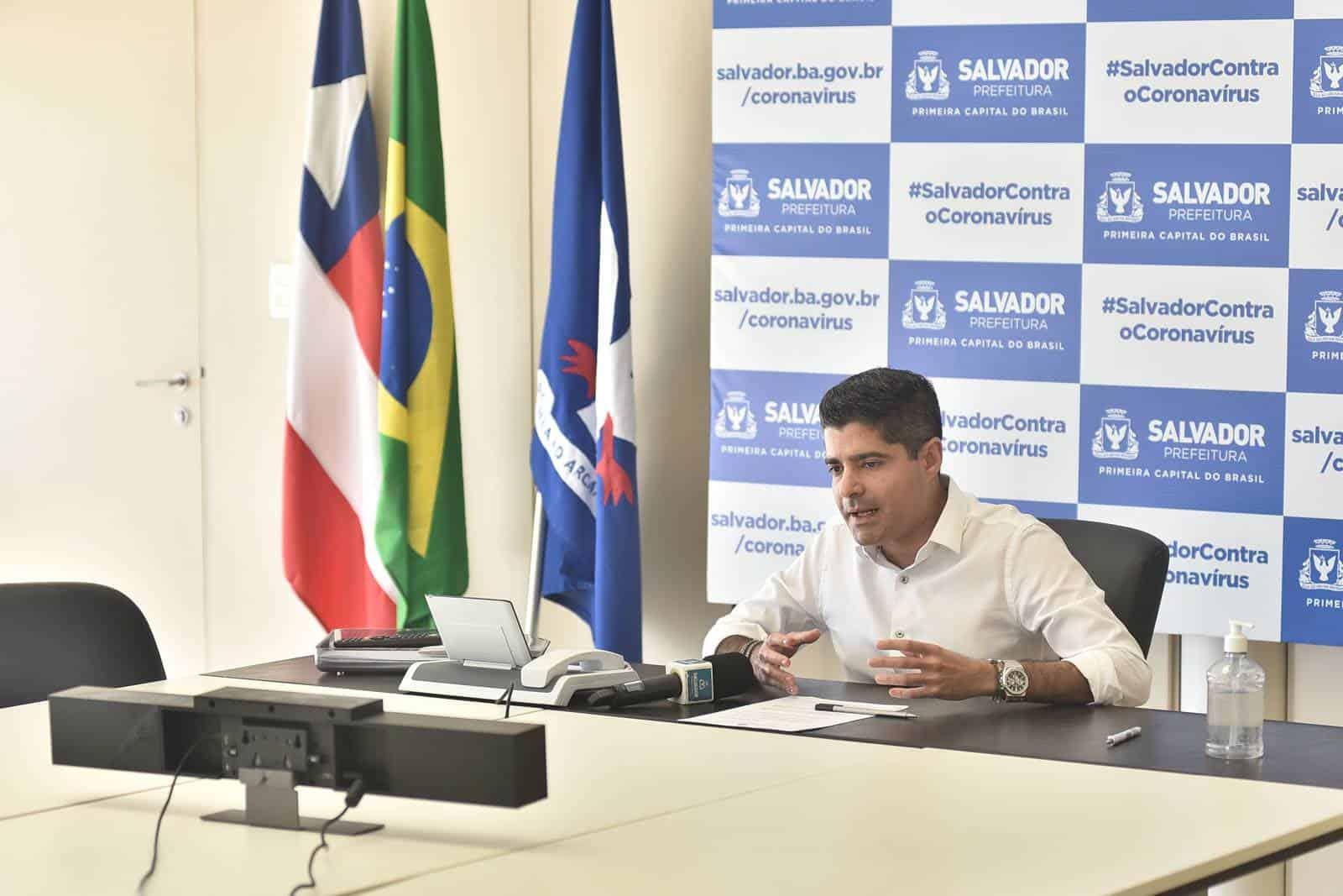 Salvador prorroga medidas restritivas para manter isolamento social