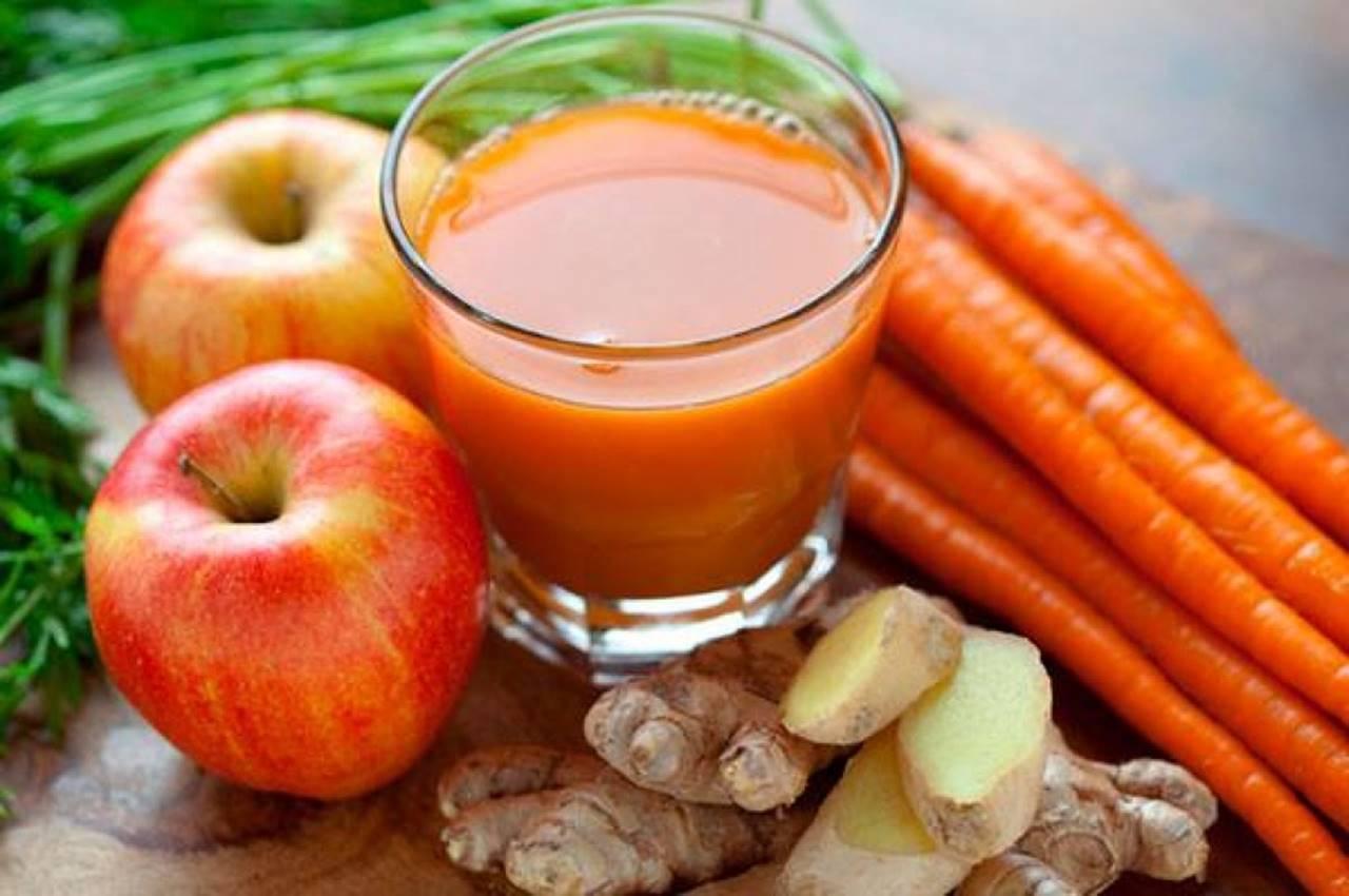 Receita de suco de cenoura com maçã para emagrecer vários quilos