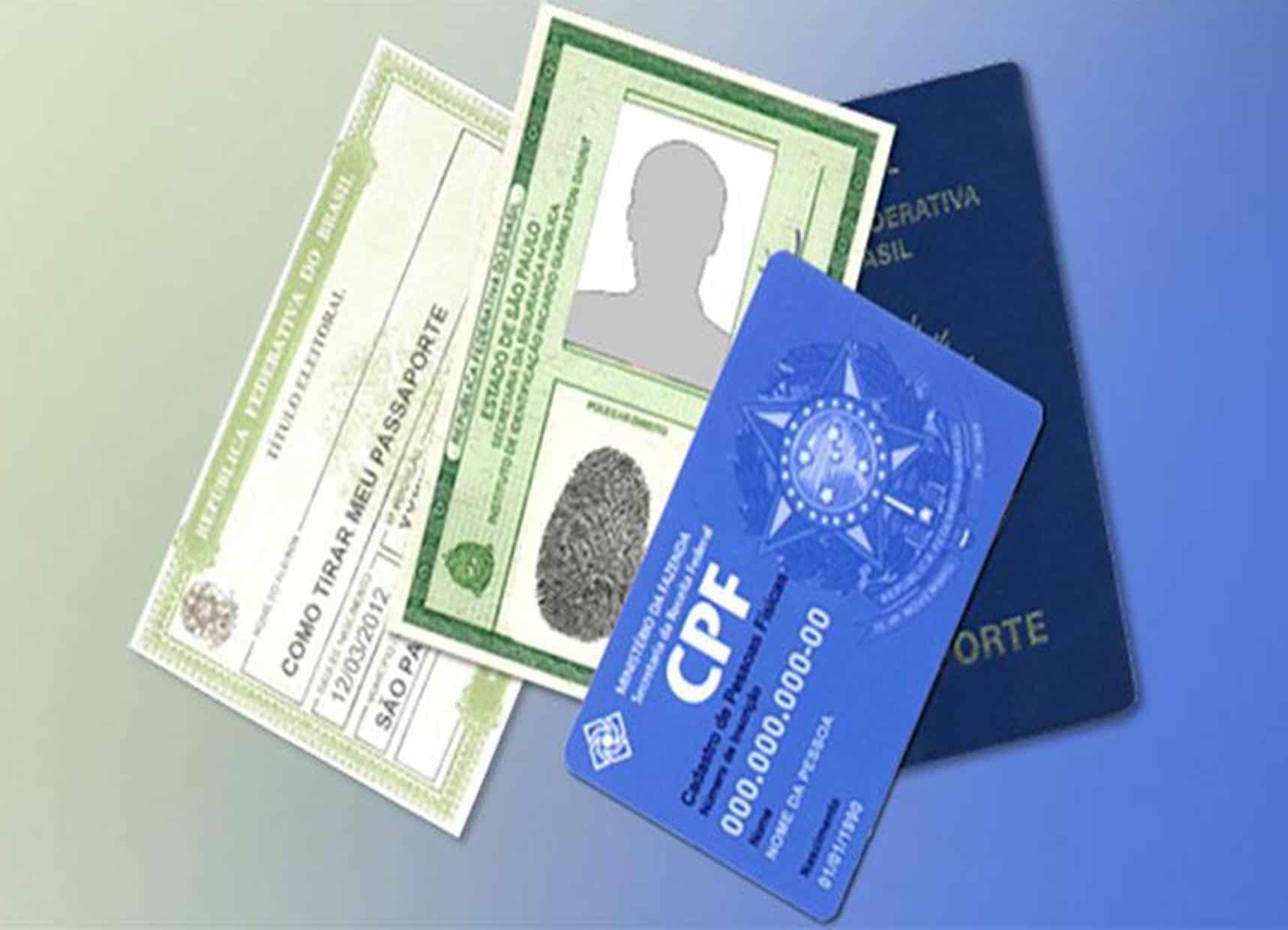 RG, CPF e outros 6 documentos poderão ser feitos de graça em todo país