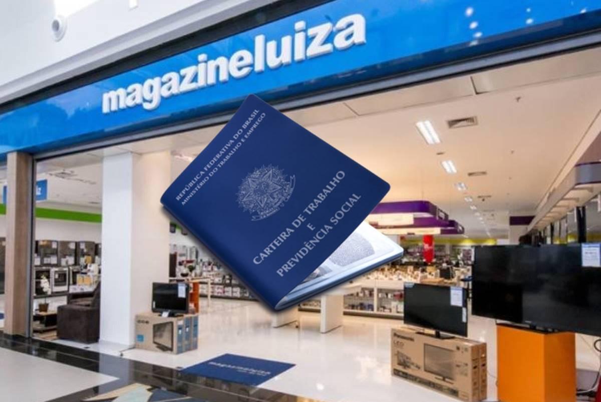 Envie currículo para vagas do trabalhe conosco da Magazine Luiza