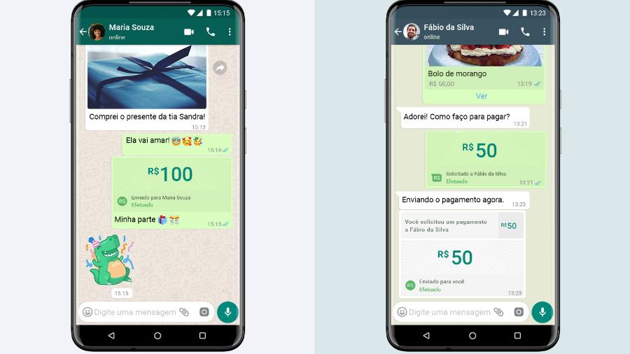 Veja como será possível fazer pagamentos por meio do Whatsapp