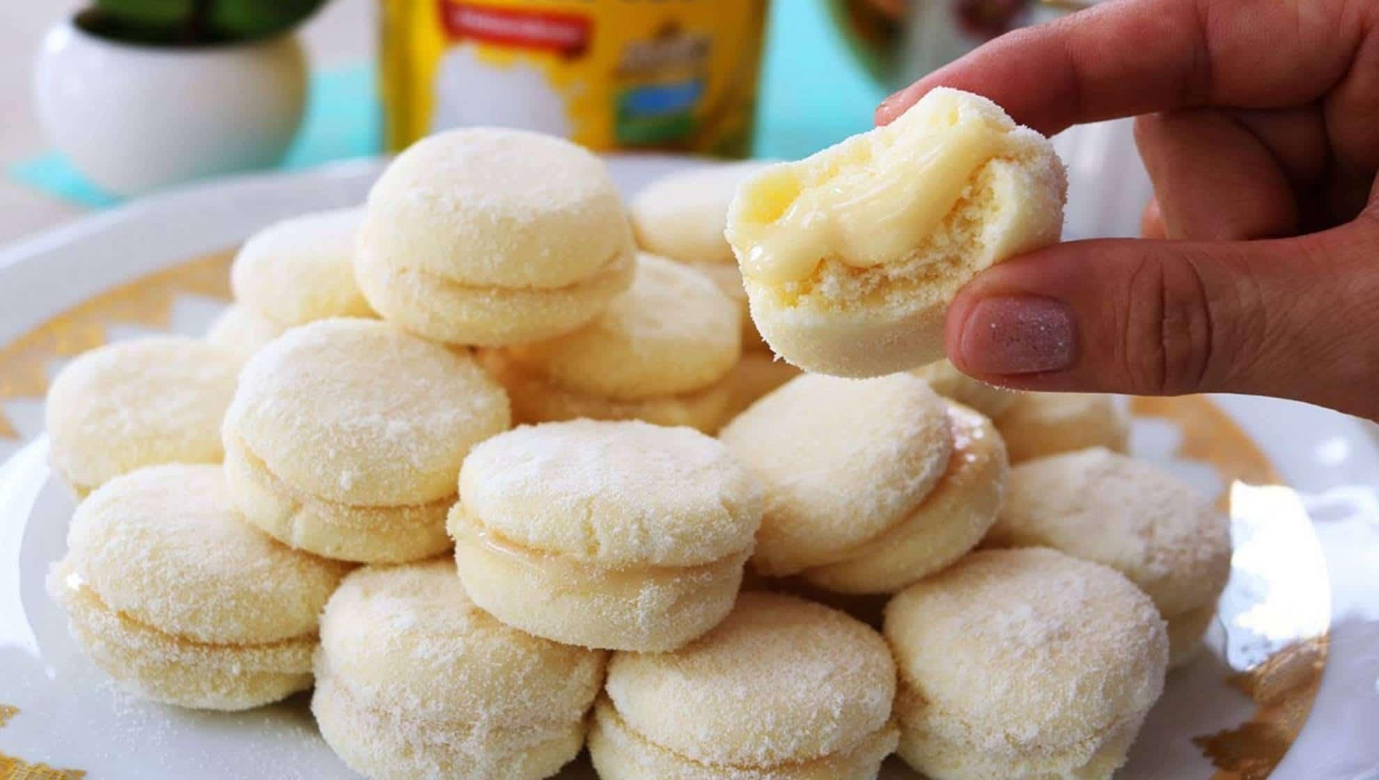 Aprenda três receitas de biscoito de leite em pó que você vai pedir bis