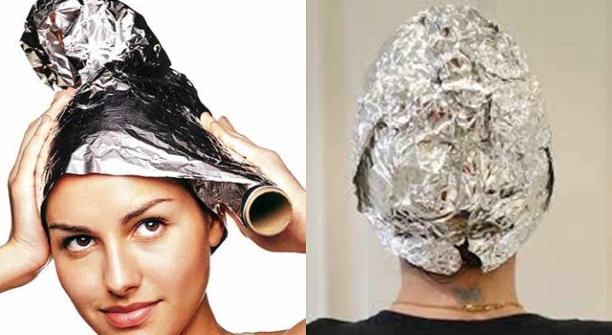 Saiba como reparar o cabelo de forma barata e eficaz com papel alumínio
