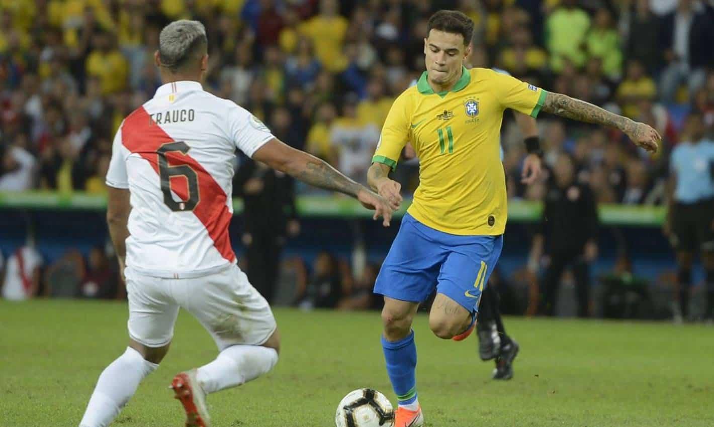 Brasil enfrenta Peru pela segunda rodada das Eliminatórias