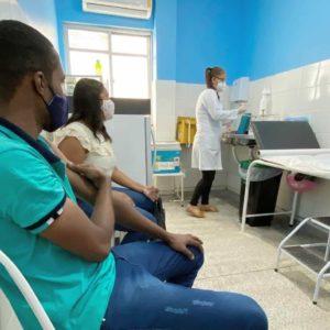 Campanha de vacinação em Simões Filho