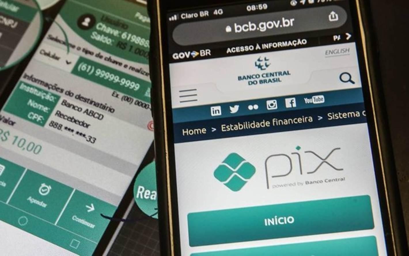 Mais de 159 milhões de chaves de acesso já foram cadastradas no PIX