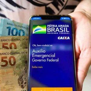 auxílio emergencial dinheiro