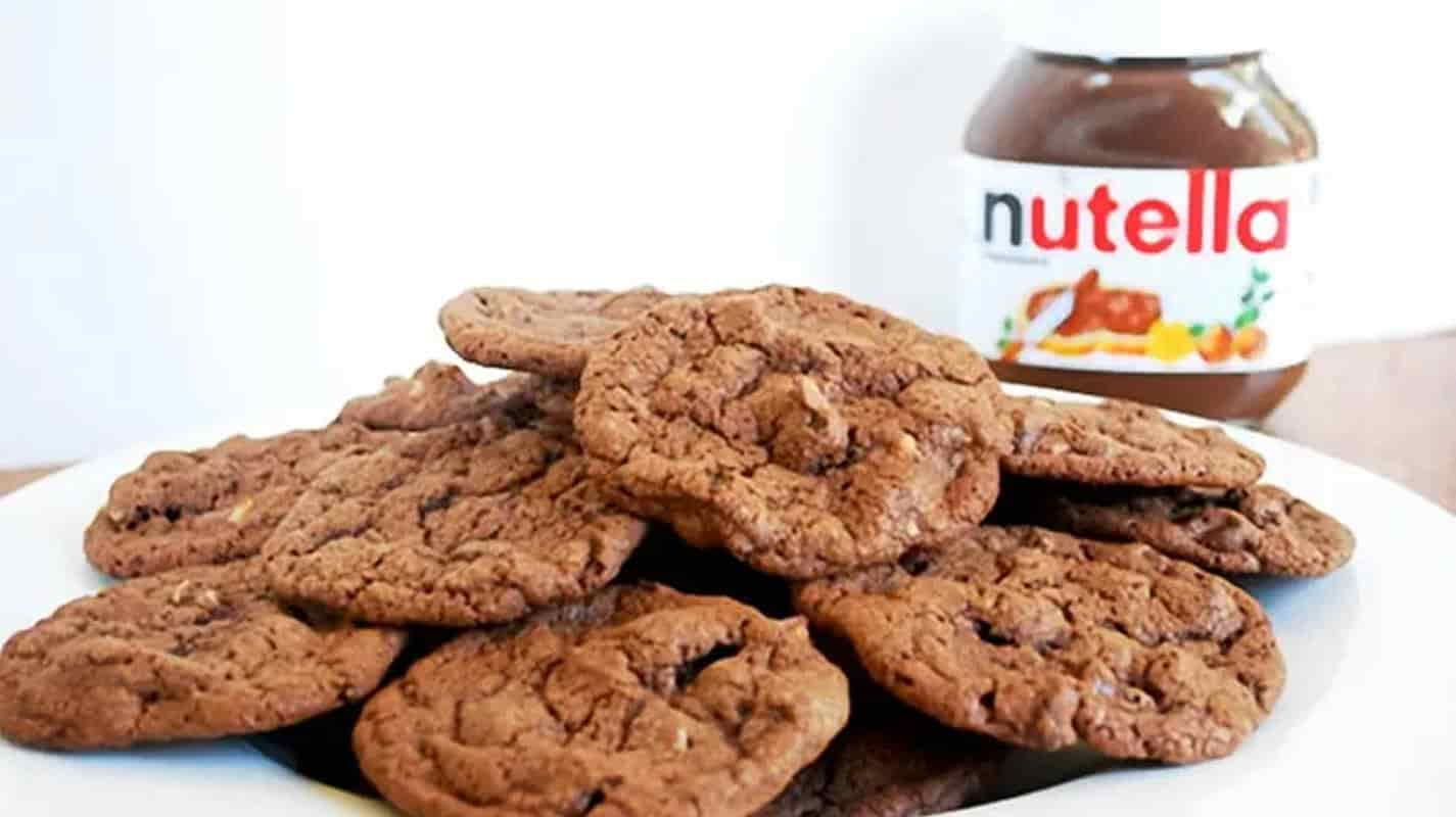 biscoito nutella