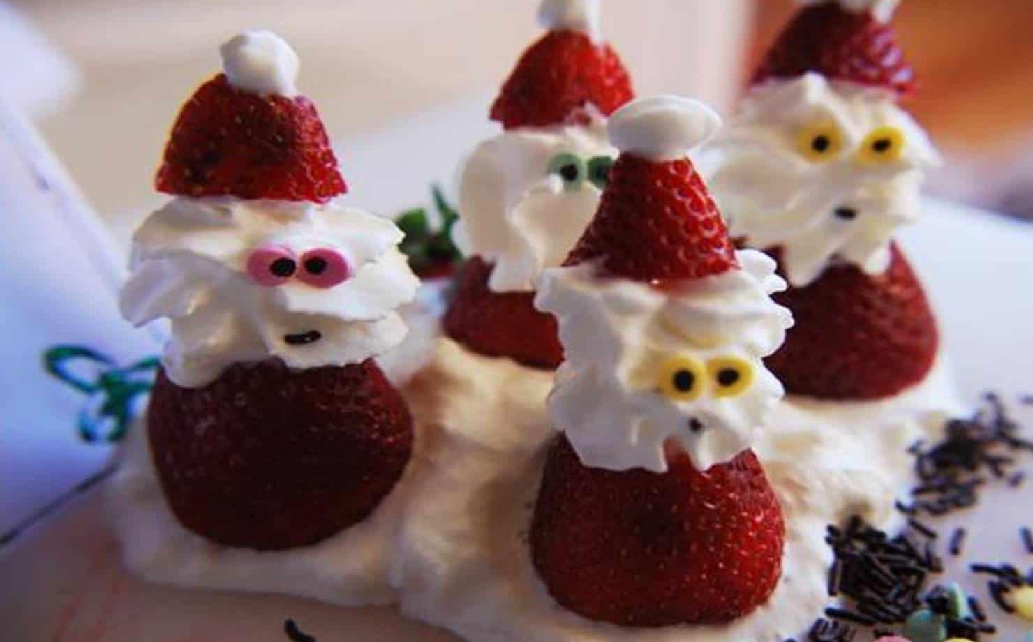 Papai Noel de Morangos