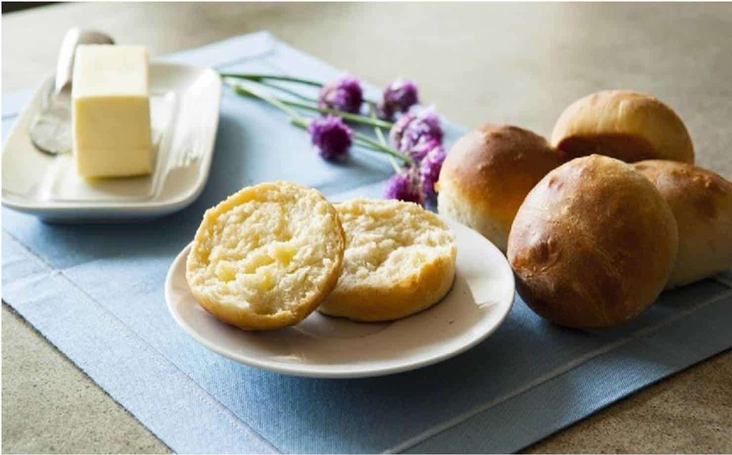 Pão de leite sem farinha