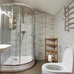 Imagem de Banheiro bem Limpo e Organizado