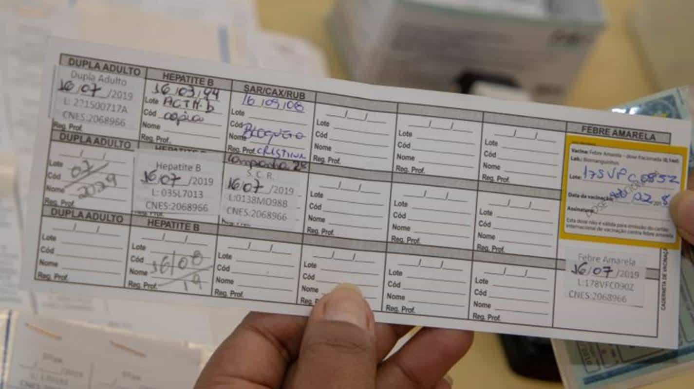 Projeto cria carteira digital de vacinação no Brasil