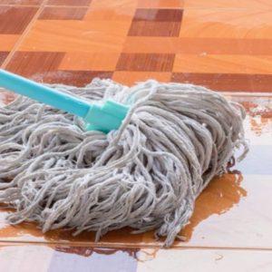 Vassoura de limpeza da casa