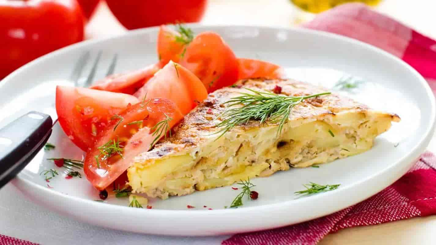 omelete de banana