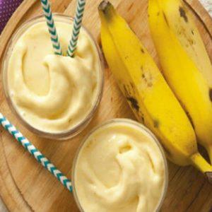 Vitamina de Banana com outros ingredientes
