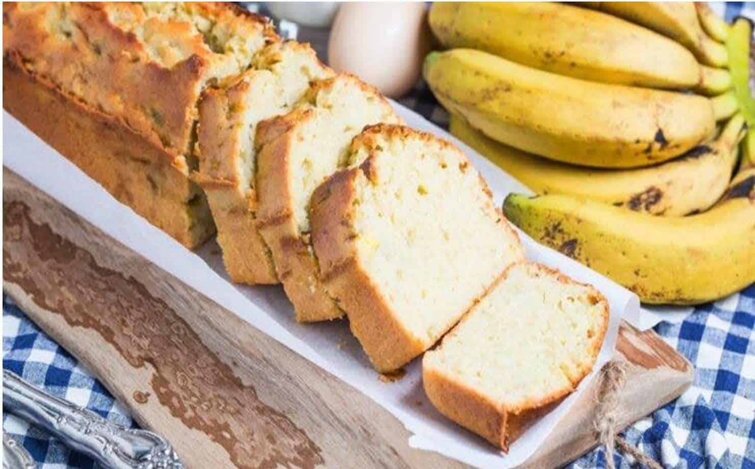 Aprenda a fazer um saboroso pão de banana fofinho