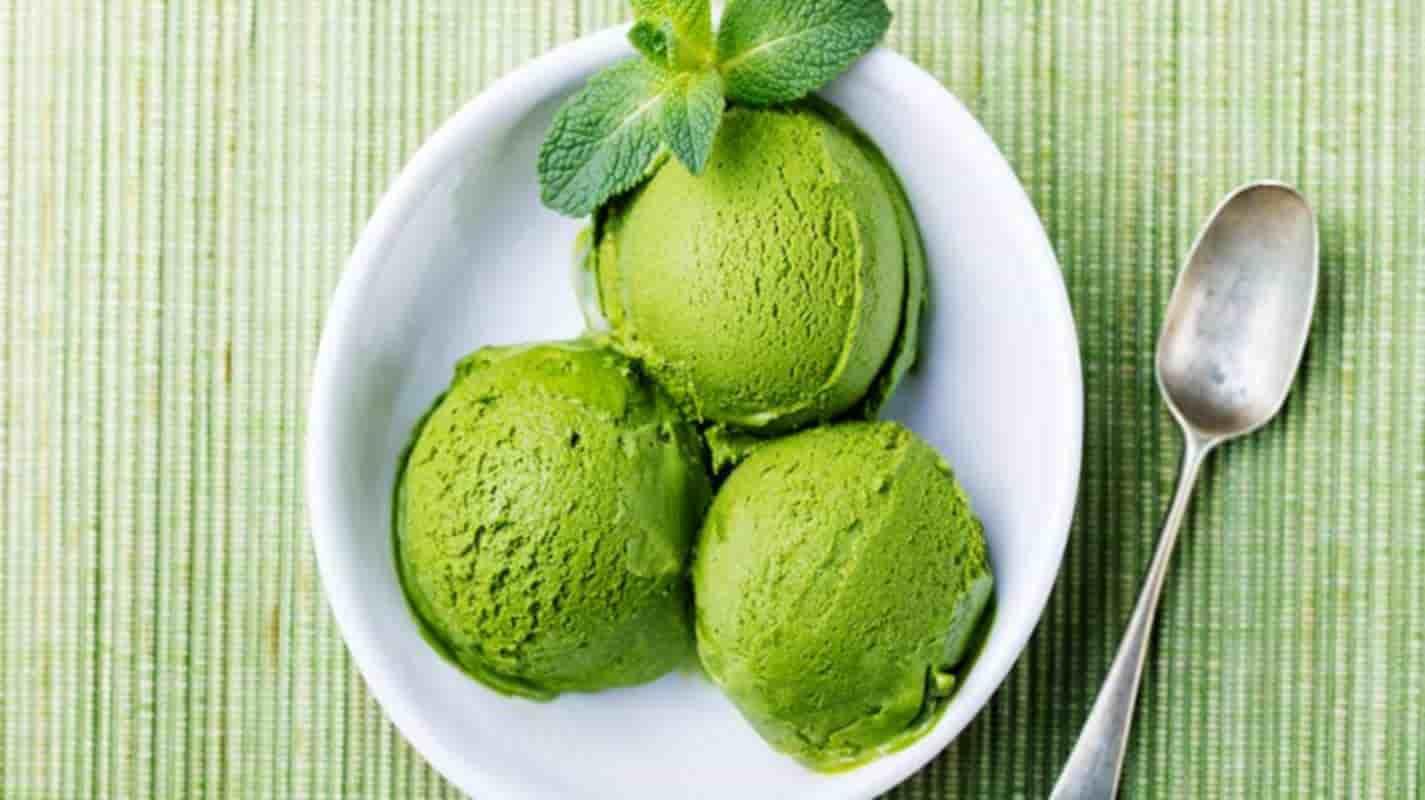 Sorvete de chá Matchá: uma receita simples, refrescante e cheia de sabor