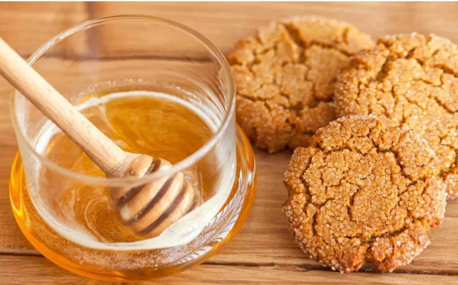 Biscoitos de Mel Deliciosos