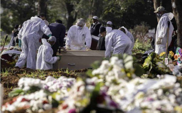 Recorde: Brasil tem 3.780 mortes registradas em 24 horas