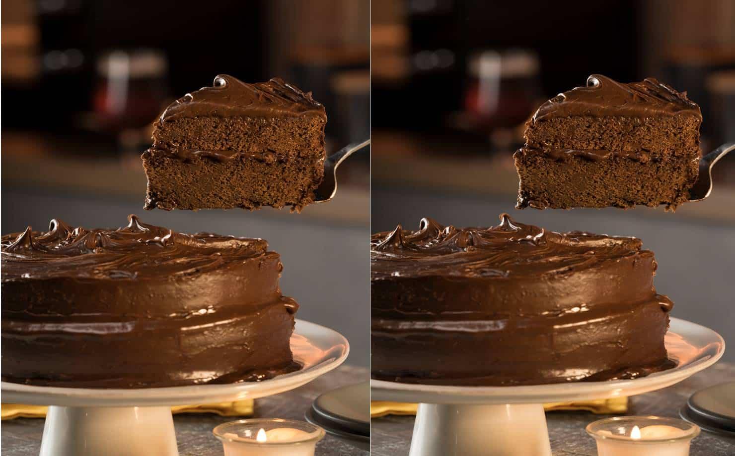 Torta de Chocolate e cerveja Preta