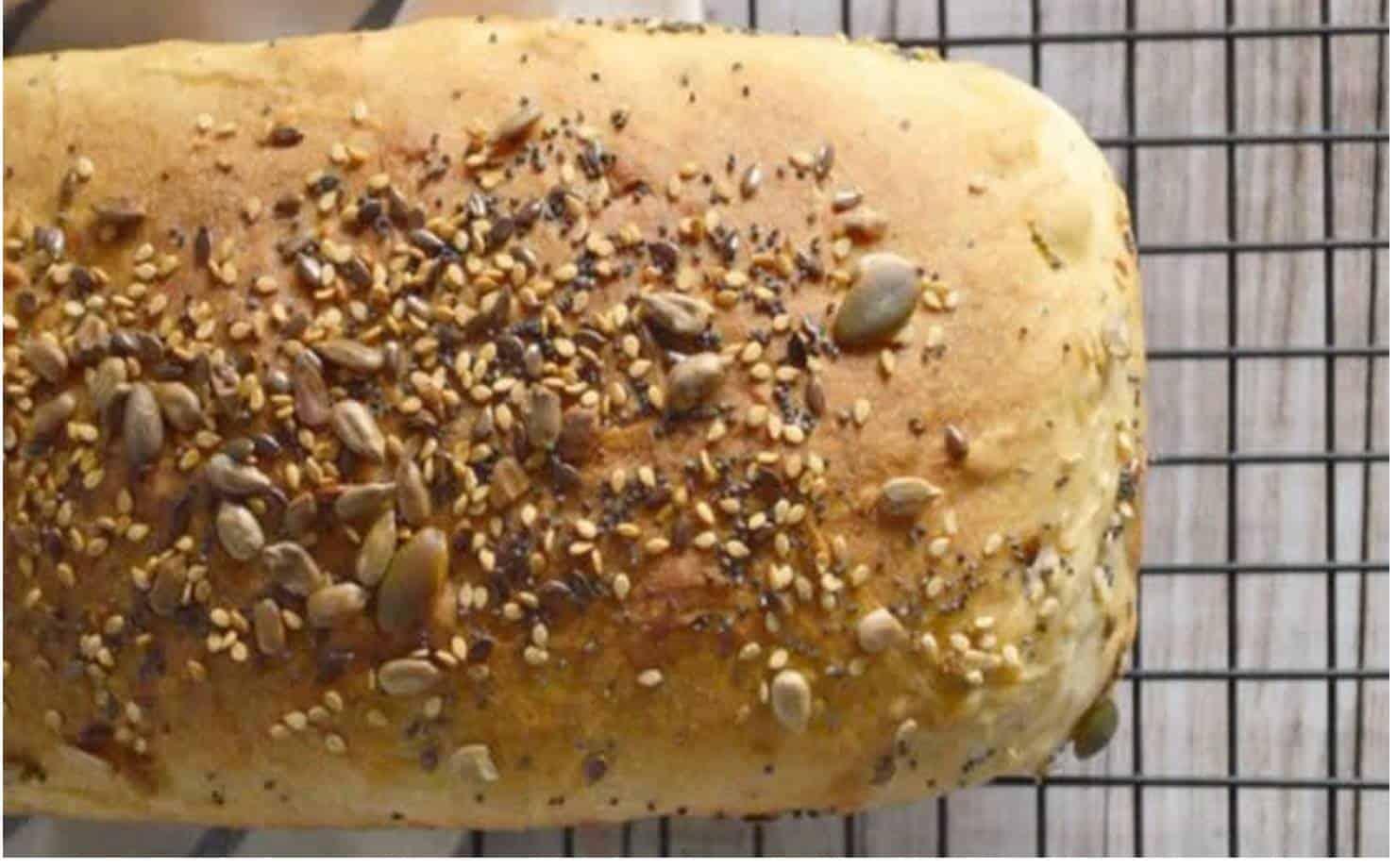 Pão Integral na Gradinha do Forno